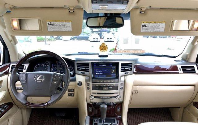 Cần bán Lexus LX 570 nhập khẩu Mỹ, màu đen, sản xuất năm 2014, đăng ký năm 2015, xe cực đẹp LH: 0982.84.283818