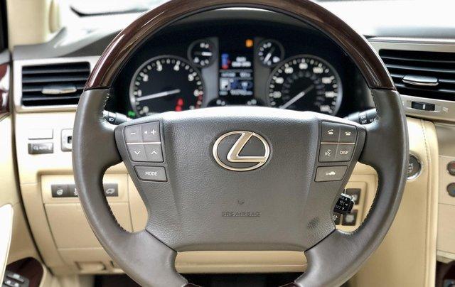Cần bán Lexus LX 570 nhập khẩu Mỹ, màu đen, sản xuất năm 2014, đăng ký năm 2015, xe cực đẹp LH: 0982.84.283820