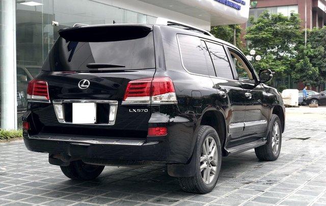 Cần bán Lexus LX 570 nhập khẩu Mỹ, màu đen, sản xuất năm 2014, đăng ký năm 2015, xe cực đẹp LH: 0982.84.28386