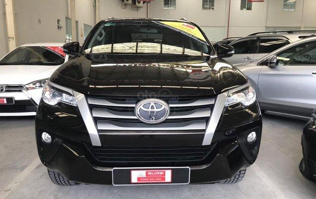 Bán ô tô Toyota Fortuner G năm sản xuất 2017, màu đen, xe nhập0