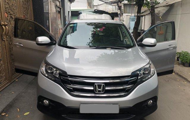 Bán Honda CRV 2015 tự động màu bạc xe bstp chính chủ1