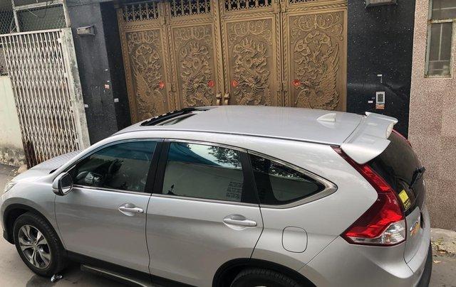 Bán Honda CRV 2015 tự động màu bạc xe bstp chính chủ2