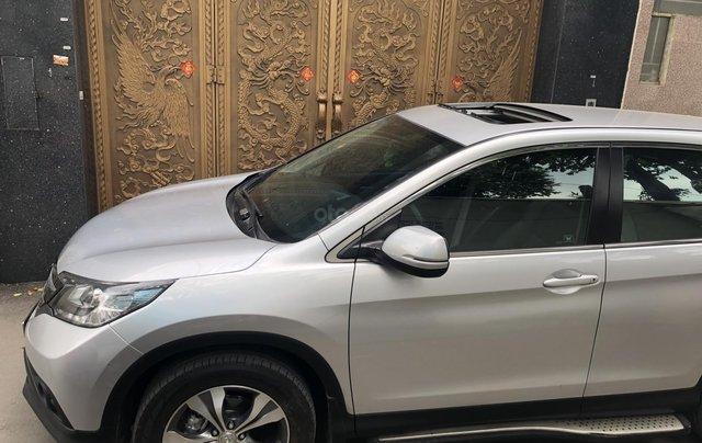 Bán Honda CRV 2015 tự động màu bạc xe bstp chính chủ5