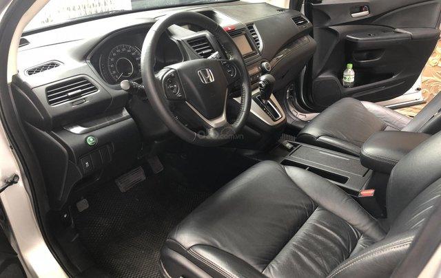 Bán Honda CRV 2015 tự động màu bạc xe bstp chính chủ6