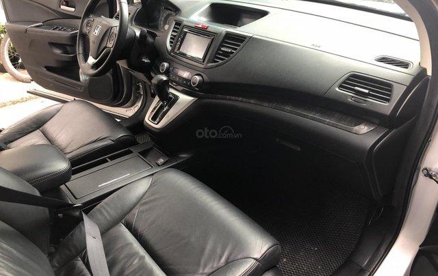 Bán Honda CRV 2015 tự động màu bạc xe bstp chính chủ8