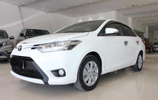 Bán Toyota Vios tự động sản xuất năm 2018, màu trắng, giá 510 triệu0