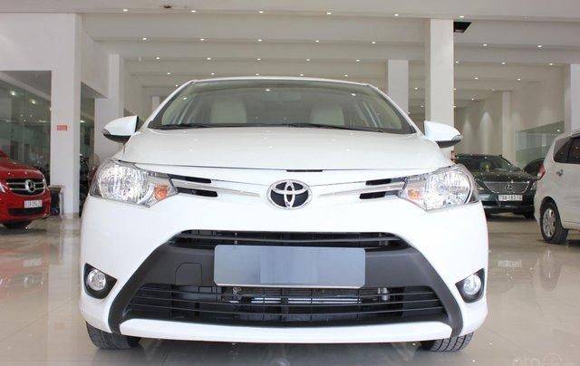 Bán Toyota Vios tự động sản xuất năm 2018, màu trắng, giá 510 triệu2