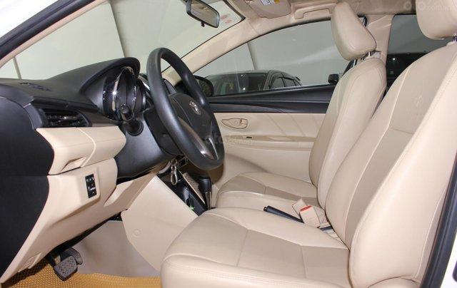 Bán Toyota Vios tự động sản xuất năm 2018, màu trắng, giá 510 triệu4