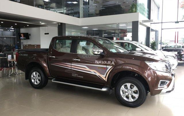 Bán xe Nissan Navara EL sản xuất 2019, màu nâu, xe nhập, giá tốt, nhiều khuyến mại0