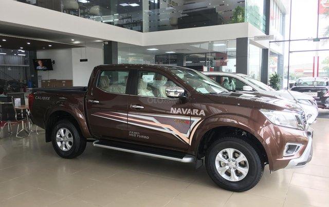 Bán xe Nissan Navara EL sản xuất 2019, màu nâu, xe nhập, giá tốt, nhiều khuyến mại1
