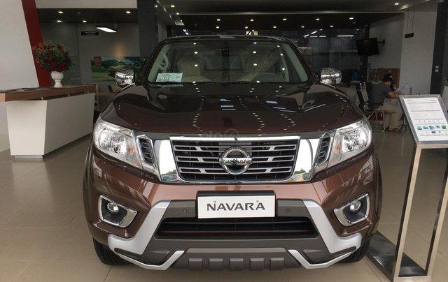 Bán xe Nissan Navara EL sản xuất 2019, màu nâu, xe nhập, giá tốt, nhiều khuyến mại2