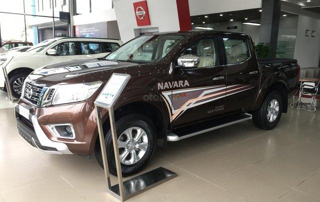 Bán xe Nissan Navara EL sản xuất 2019, màu nâu, xe nhập, giá tốt, nhiều khuyến mại3