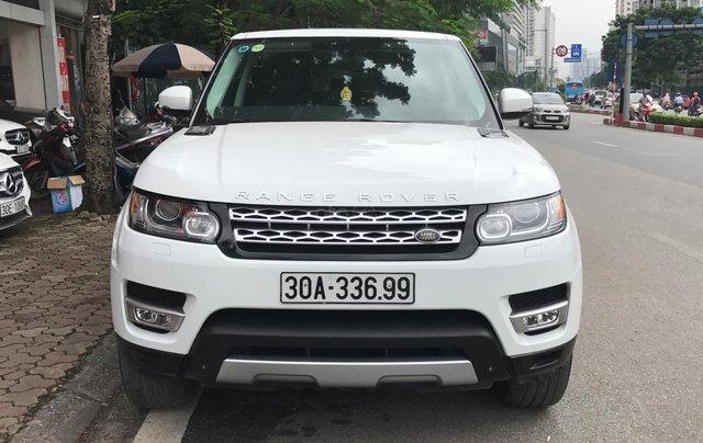 Bán LandRover Range Rover sport 2014 màu trắng0