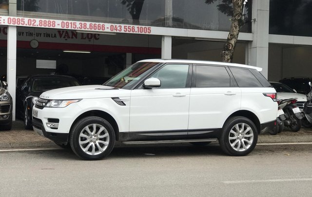 Bán LandRover Range Rover sport 2014 màu trắng4
