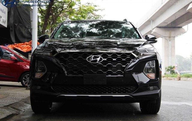 Hyundai SantaFe dầu đặc biệt đen 2019. LH: 09765439580
