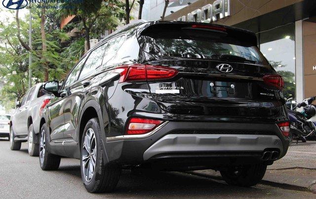 Hyundai SantaFe dầu đặc biệt đen 2019. LH: 09765439583