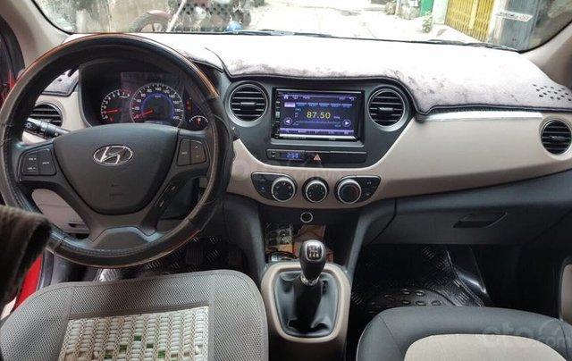 Cần bán xe Hyundai i10 SX 2016, số sàn, bảng 1.0 mâm đúc4
