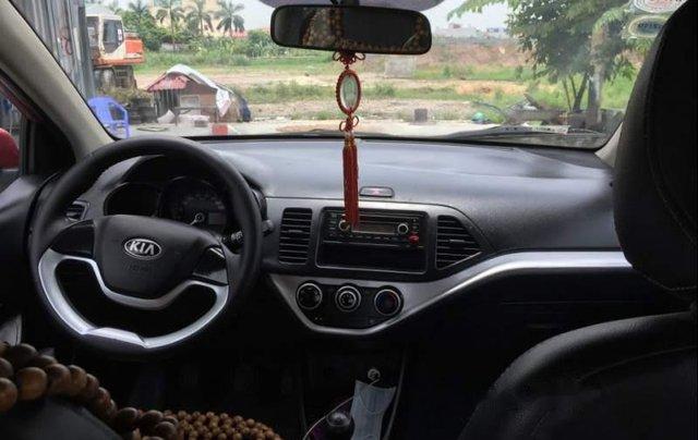 Cần bán lại xe Kia Morning năm sản xuất 2014, màu đỏ4