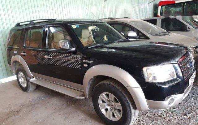 Bán Ford Everest năm 2009, màu đen chính chủ, giá 400tr0