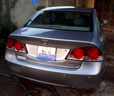 Cần bán Honda Civic 2.0 AT đời 2008, màu bạc số tự động, giá 380tr1