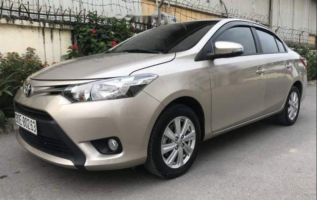 Bán Toyota Vios E 1.5MT sản xuất năm 2017, số sàn0
