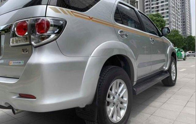 Cần bán gấp Toyota Fortuner 2.5G năm 2015, màu bạc số sàn
