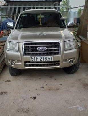 Bán xe Ford Everest sản xuất 2008, màu vàng, nhập khẩu, giá chỉ 375 triệu