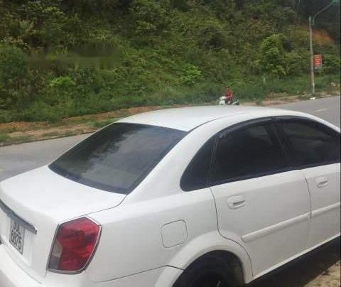Bán lại xe Daewoo Lacetti sản xuất 2005, màu trắng, xe nhập xe gia đình3