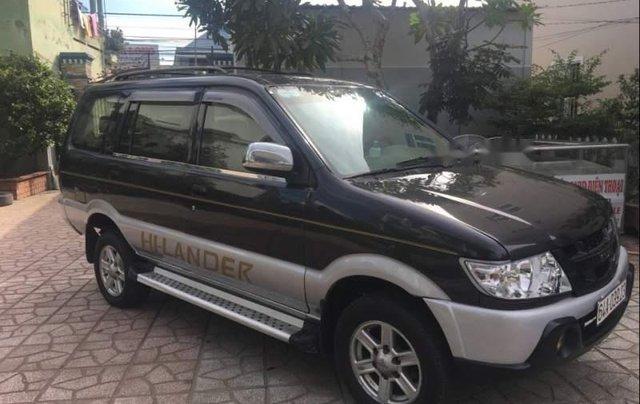Cần bán Isuzu Hi lander đời 2006, màu xám xe gia đình0