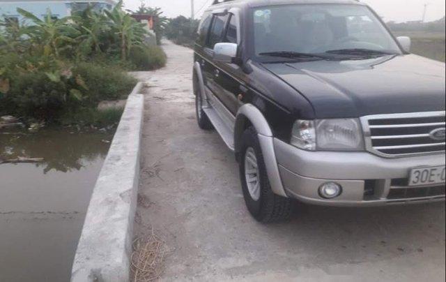 Bán xe Ford Everest đời 2006, màu đen, nhập khẩu0