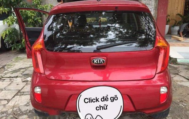 Cần bán lại xe Kia Morning năm sản xuất 2014, màu đỏ3
