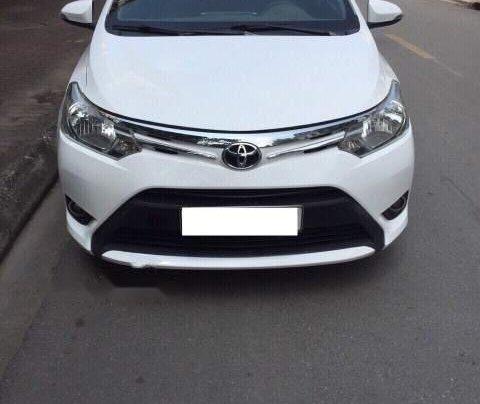 Bán Toyota Vios sản xuất năm 2014, màu trắng, số tự động0