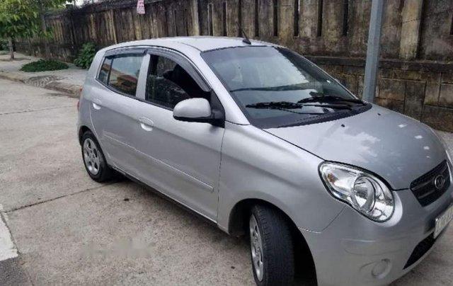 Bán lại xe Kia Morning sản xuất năm 2011, màu bạc, nhập khẩu0