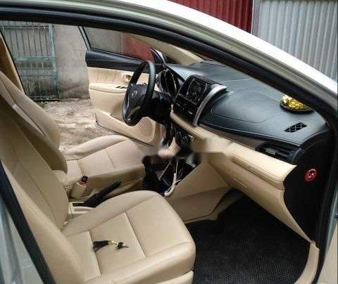 Bán xe Toyota Vios đời 2015, màu bạc số sàn, giá chỉ 410 triệu2