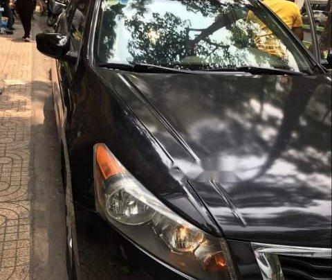 Bán lại xe Honda Accord năm sản xuất 2009, màu đen, xe nhập 0