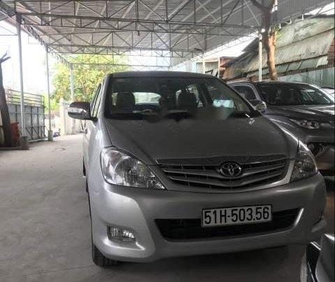 Bán Toyota Innova đời 2011, màu bạc