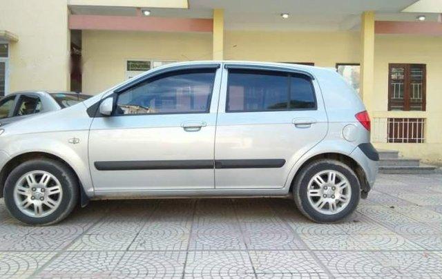 Bán Hyundai Click 1.4AT đời 2008, màu bạc, nhập khẩu0