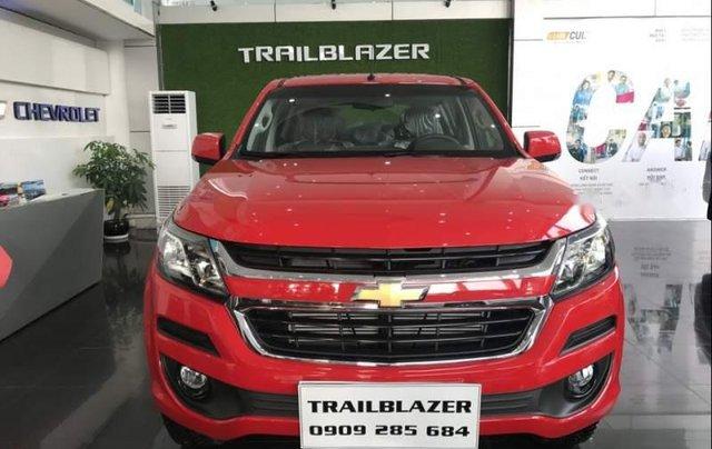 Bán Chevrolet Trailblazer 2019, màu đỏ, nhập khẩu Thái Lan5