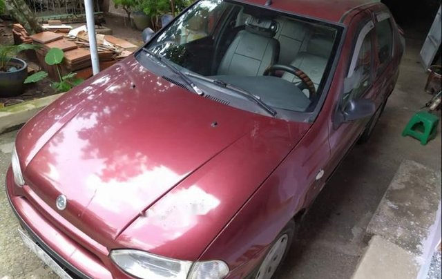 Bán ô tô Fiat Siena sản xuất năm 2003, màu đỏ, nhập khẩu chính chủ0