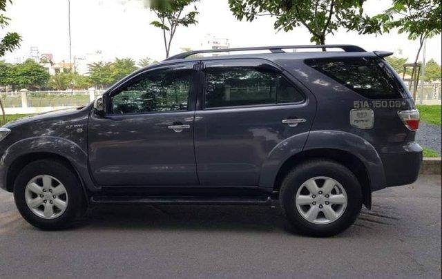 Bán ô tô Toyota Fortuner đời 2011, màu xám, nhập khẩu nguyên chiếc0