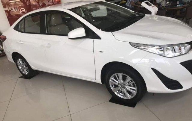 Bán xe Toyota Vios sản xuất năm 2019, màu trắng0