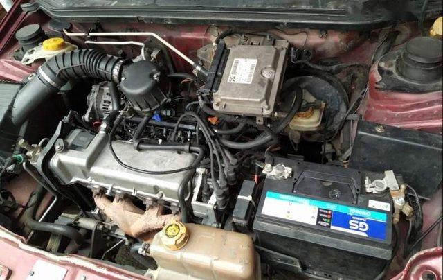Bán ô tô Fiat Siena sản xuất năm 2003, màu đỏ, nhập khẩu chính chủ1