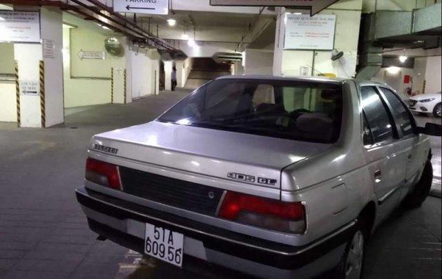 Bán xe Peugeot 405 đời 1990, màu bạc, nhập khẩu5