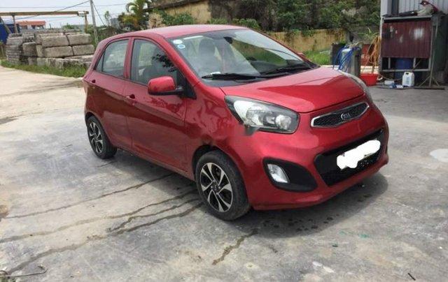 Cần bán lại xe Kia Morning năm sản xuất 2014, màu đỏ1