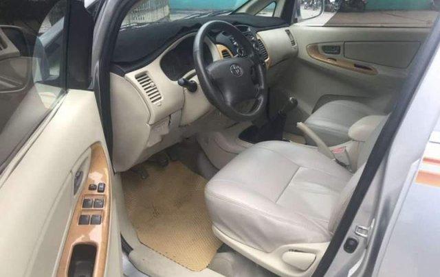 Cần bán gấp Toyota Innova 2008, màu bạc số sàn3