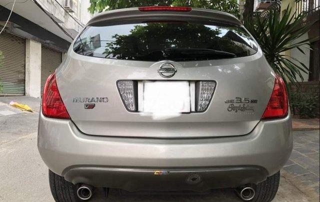 Bán xe Nissan Murano SE 3.5 V6 2006, màu bạc, nhập khẩu xe gia đình3