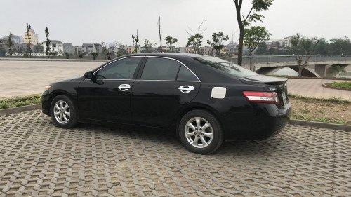 Cần bán Toyota Camry 2.5 AT đời 2009, màu đen 8
