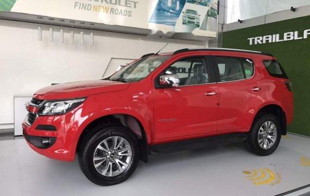 Bán Chevrolet Trailblazer 2019, màu đỏ, nhập khẩu Thái Lan0