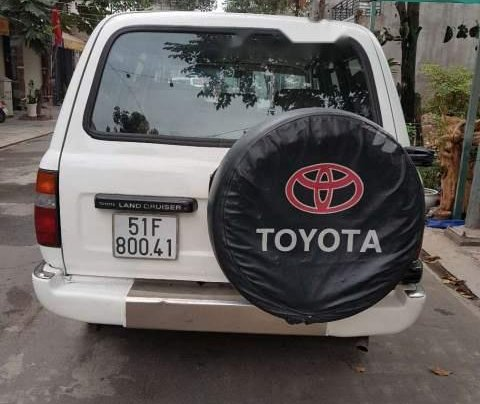 Bán Toyota Land Cruiser 4x4 đời 1992, màu trắng, nhập khẩu nguyên chiếc Nhật1