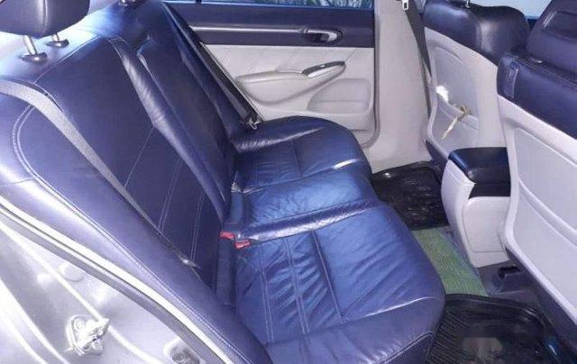 Cần bán Honda Civic 2.0 AT đời 2008, màu bạc số tự động, giá 380tr4
